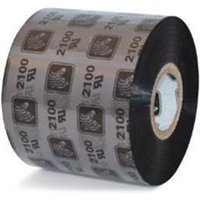 Zebra 02100BK06045 Original Wax Printer Ribbon 2100 (60mm x 450m)