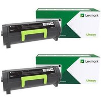 Original Multipack Lexmark MB2236i Printer Toner Cartridges (2 Pack) -B222X00