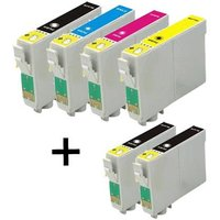 Compatible Multipack Epson WorkForce WF-2540WF Printer Ink Cartridges (6 Pack) -C13T16314010