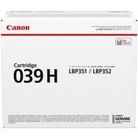 Canon 039H (0288C001) Black Original High Capacity Toner Cartridge