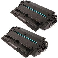 Compatible Multipack HP LaserJet 5200 Printer Toner Cartridges (2 Pack) -Q7516X