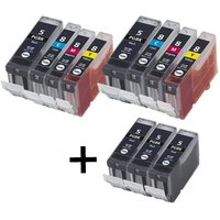 Compatible Multipack Canon Pixma MP800R Printer Ink Cartridges (11 Pack) -0628B001