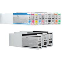 Image of Compatible Multipack Epson T6361/6B Full Set + 2 EXTRA Black Ink Cartridges (13 Pack)