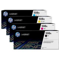 Original Multipack HP Color LaserJet Enterprise Flow MFP M577c Printer Toner Cartridges (4 Pack) -CF360A