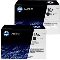 Original Multipack HP LaserJet 5200tn Printer Toner Cartridges (2 Pack) -Q7516A