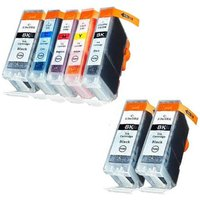 Compatible Multipack Canon Pixma MP760 Printer Ink Cartridges (7 Pack) -4479A002