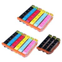 Compatible Multipack Epson Expression Photo XP-970 Printer Ink Cartridges (15 Pack) -C13T24314010