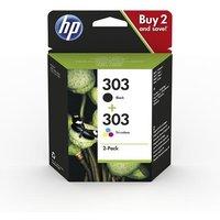 HP 303 (3YM92AE) Original Black and Colour Ink Cartridge Multipack