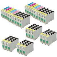 Compatible Multipack Epson Stylus Photo R2880 Printer Ink Cartridges (30 Pack) -C13T09674010