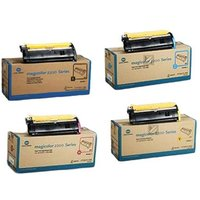 Konica Minolta 171-0471-001/004 Full Set Original Toners (4 Pack)