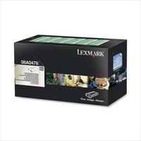 Lexmark 08A0476 Original Black Standard Capacity Toner Cartridge
