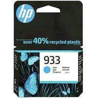 HP 933 Cyan Original Standard Capacity Ink Cartridge Multipack (CN058AE)