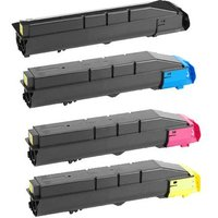 Compatible Multipack Kyocera TASKalfa 350ci Printer Toner Cartridges (4 Pack) -1T02VMCNL0