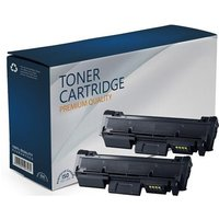 Compatible Multipack Samsung Xpress M2835dw Printer Toner Cartridges (2 Pack) -MLT-D116S