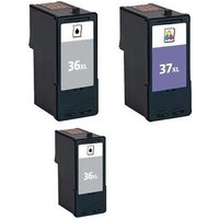 Compatible Multipack Lexmark Z2400 Printer Ink Cartridges (3 Pack) -18C2170E