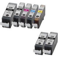 Compatible Multipack Canon Pixma MP540 Printer Ink Cartridges (7 Pack) -2933B001