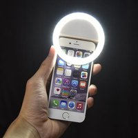 'Rechargeable Led Selfie Ring Light For Mobile Phone