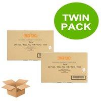 Original Multipack UTAX CD 1025 Printer Toner Cartridges (2 Pack) -612510010