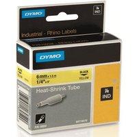 Dymo 18052 (S0718270) Original Label Tape (6mm x 1.5m) Black On Yellow