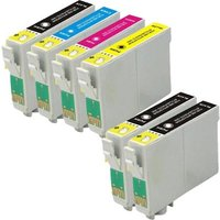 Compatible Multipack Epson Expression Home XP-206 Printer Ink Cartridges (6 Pack) -C13T18114010