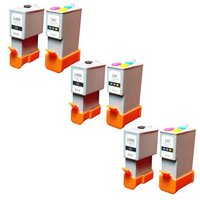 Compatible Multipack Canon SmartBase MP370 Printer Ink Cartridges (6 Pack) -6881A002