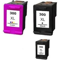 Compatible Multipack HP DeskJet D2568 Printer Ink Cartridges (3 Pack) -CC641EE