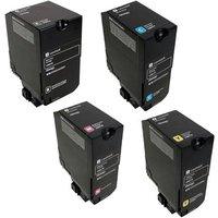 Original Multipack Lexmark XC4140 Printer Toner Cartridges (4 Pack) -24B6720