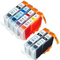 Compatible Multipack Canon Pixma MP750 Printer Ink Cartridges (6 Pack) -4705A002