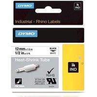 Dymo 18055 (S0718300) Original Label Tape (12mm x 1.5m) Black On White
