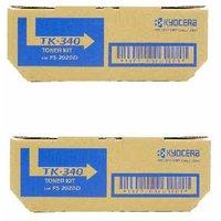 Original Multipack Kyocera FS-2020d Printer Toner Cartridges (2 Pack) -TK340