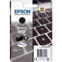 Epson 407 (T07U140) Black Original DURABrite Ultra Ink Cartridge