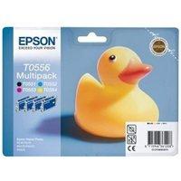 Epson T0556 (T055640) Original Ink Cartridge MultiPack (Duck)