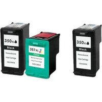 Compatible Multipack HP Photosmart C4410 Printer Ink Cartridges (3 Pack) -CB336EE