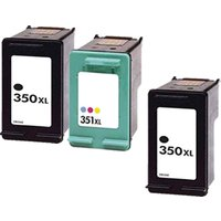 Compatible Multipack HP Photosmart D5345 Printer Ink Cartridges (3 Pack) -CB336EE
