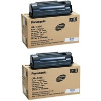 Original Multipack Panasonic DX-600 Printer Toner Cartridges (2 Pack) -UG-3350AG