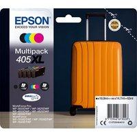 Epson 405XL (T05H640) Original DURABrite Ultra High Capacity Ink Cartridges Multipack (Suitcase)