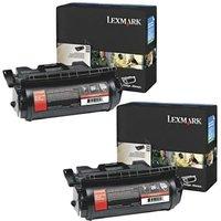Lexmark 0064036HE Black Original Toners Twin Pack (2 Pack)