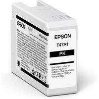 Epson T47A1 (T47A100) Black Original UltraChrome Ink Cartridge (50ml)