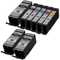 Compatible Multipack Canon Pixma TS6200 Printer Ink Cartridges (8 Pack) -1970C001