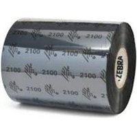 Zebra 02100BK08945 Original Wax Printer Ribbon 2100 (89mm x 450m)