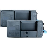 Compatible Multipack Kyocera ECOSYS M3645dn Printer Toner Cartridges (2 Pack) -1T02T90NL0