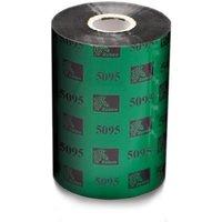 Zebra 05095BK04045 Original Resin Printer Ribbon 5095 (40mm x 450m)