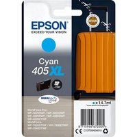 Epson 405XL (T05H240) Cyan Original DURABrite Ultra High Capacity Ink Cartridge (Suitcase)