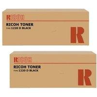 Original Multipack Ricoh Aficio 1015 Printer Toner Cartridges (2 Pack) -888087, Type 1220D