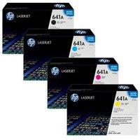 Original Multipack HP Colour LaserJet 4650dn Printer Toner Cartridges (4 Pack) -C9720A