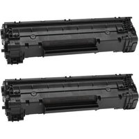 Compatible Multipack HP LaserJet Pro M1132 Multifunction Printer Toner Cartridges (2 Pack) -CE285A