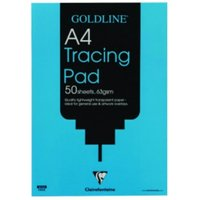 Goldline Popular Tracing Pad 63gsm 50 Sheets A4 Code GPT2A4