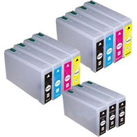 Compatible Multipack Epson WorkForce Pro WF-5110DW Printer Ink Cartridges (11 Pack) -
