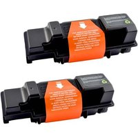 Compatible Multipack Kyocera FS-3920DN Printer Toner Cartridges (2 Pack) -TK350