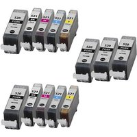 Compatible Multipack Canon Pixma MP980 Printer Ink Cartridges (13 Pack) -2932B001